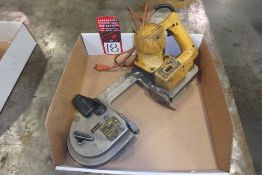 DEWALT DW322 Electric Variable Speed Portable Band Saw