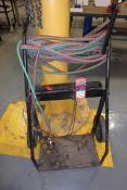 Oxygen & Acetylene Cart, w/ Gauges