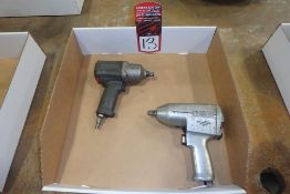 Lot Comprising (1) INGERSOLL RAND Pneumatic Impact Driver; (1) SNAP-ON Pneumatic Impact Driver