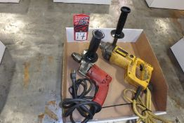 "Lot Comprising (1) MILWAUKEE Magnum 1/2"" Electric Hole Shooter; (1) DEWALT DW142 1/2"" Electric"