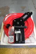"GLOBAL 534173 Spring Driven Hose Reel, 3/8"" NPT x 50', (New in Box)"