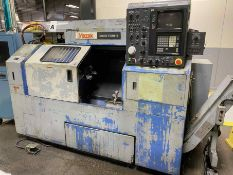 MAZAK QT15 Turning Center, s/n 77383, w/ FANUC 10T Control (NO TOOLING INCLUDED)