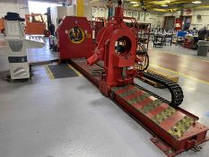 """WEATHERFORD Cam F 13.375 Breakout/Bucking Machine, s/n 54, w/ 13.375"""" Max Pipe Dia. (NO TOOLING INCL"""