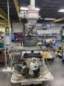 2009 GANESH GMV-4 Mill, s/n SV300024, w/ NEWALL DP700 DRO (NO TOOLING INCLUDED)