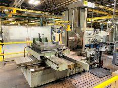 KEARNS RICHARDS SH75 Horizontal Table Type Boring Mill, s/n 6974, w/ NEWALL DP700 DRO, MITUTOYO KA (