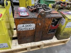 Unknown Make 4,000 LB Electric Lifting Magnet