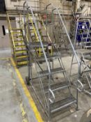 U-Line 5-Step Rolling-Step Ladder