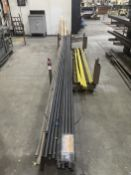 """Cantilever Rack w/ Angle Iron, Material Cart w/ 1 1/4"""" Tube and Material Rack w/ Round Stock"""