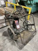 Torch Cart w/ Torch, Hose, and Gages