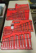 (4) PROTO Wrench Sets, w/ Pouches