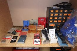 Lot Comprising Contents of Shelf Including ButNot Limited to: REX Durometer, DEFELSKO Coating