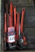 (10) Assorted Monkey Wrenches