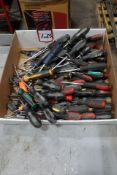 Box of Assorted Phillips Head Screwdrivers