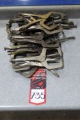 Lot Comprising Assorted Vise Grips