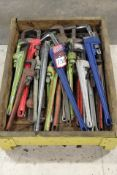 (22) Assorted Large Pipe Wrenches