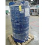 PLASTIC TANK, 250 gal. cap.