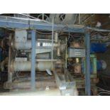 LOT CONSISTING OF: 3-screw kneader, w/controls, (3) electric motors, 75 HP