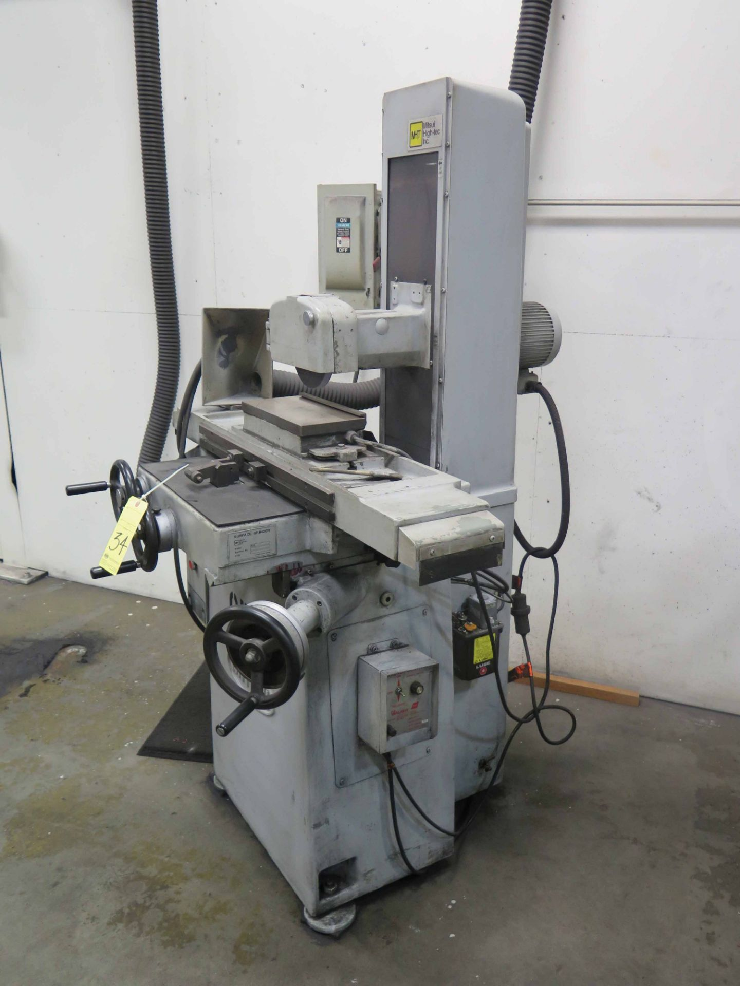 """Lot 34 - SURFACE GRINDER, MITSUI HIGH-TEC MDL. MSG-200MH, 6"""" x 12"""" electromagnetic chuck, Walker control, S/N"""