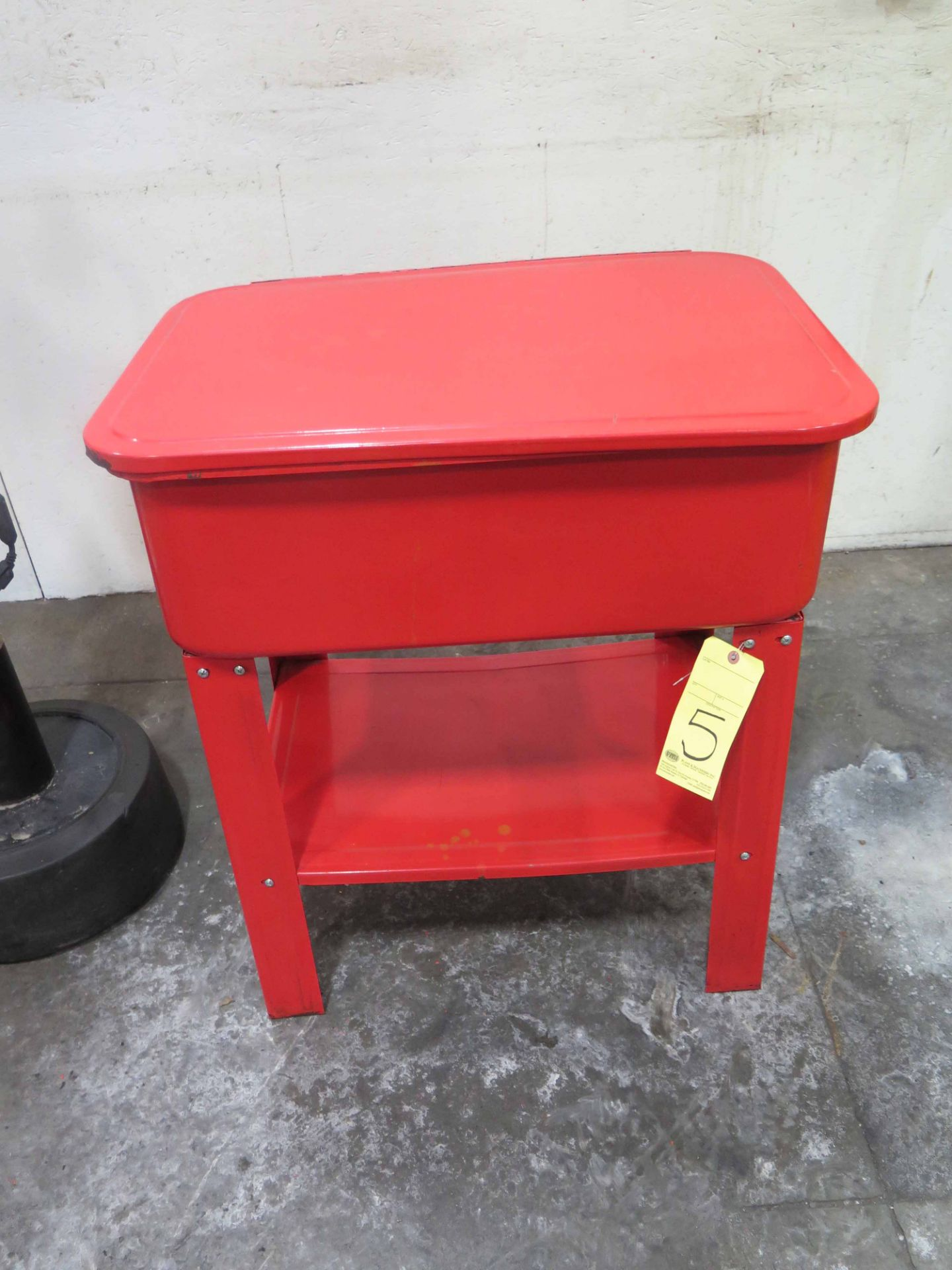 Lot 5 - PARTS WASHER, 20 gal.