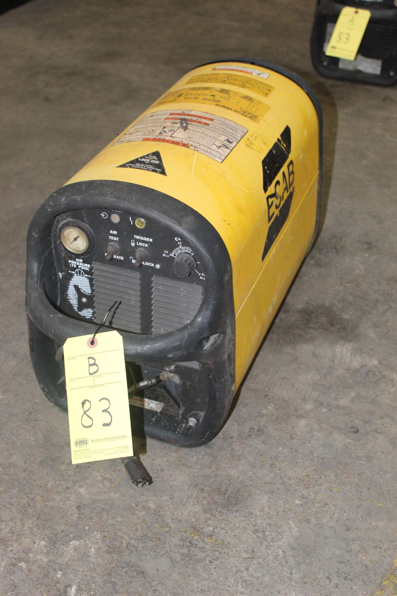 Lot 83B - PLASMA CUTTER, ESAB, S/N PH-J406106