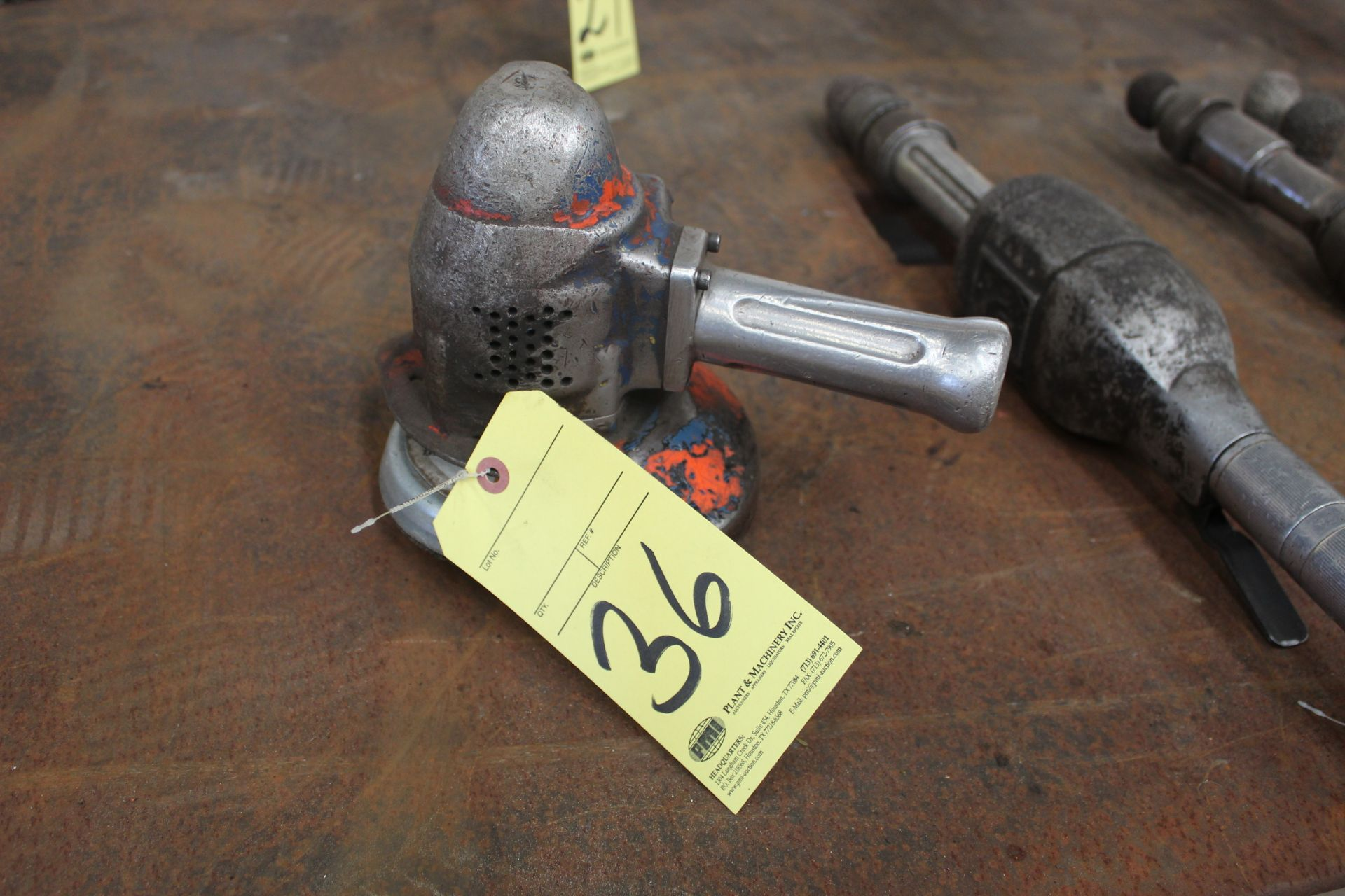 Lot 36 - PNEUMATIC RIGHT ANGLE GRINDER, TOP CAT
