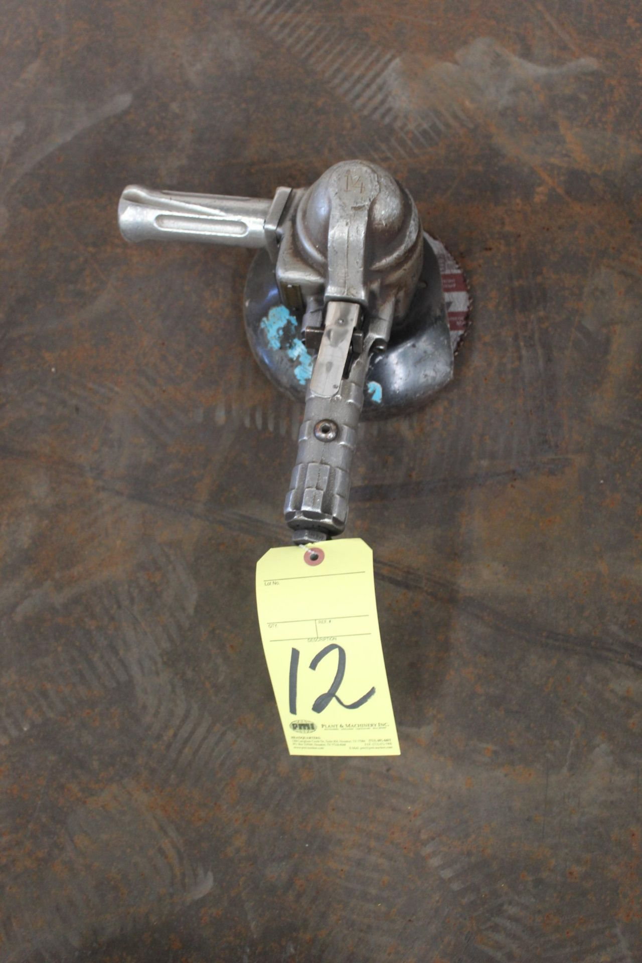 Lot 12 - PNEUMATIC RIGHT ANGLE GRINDER, TOP CAT