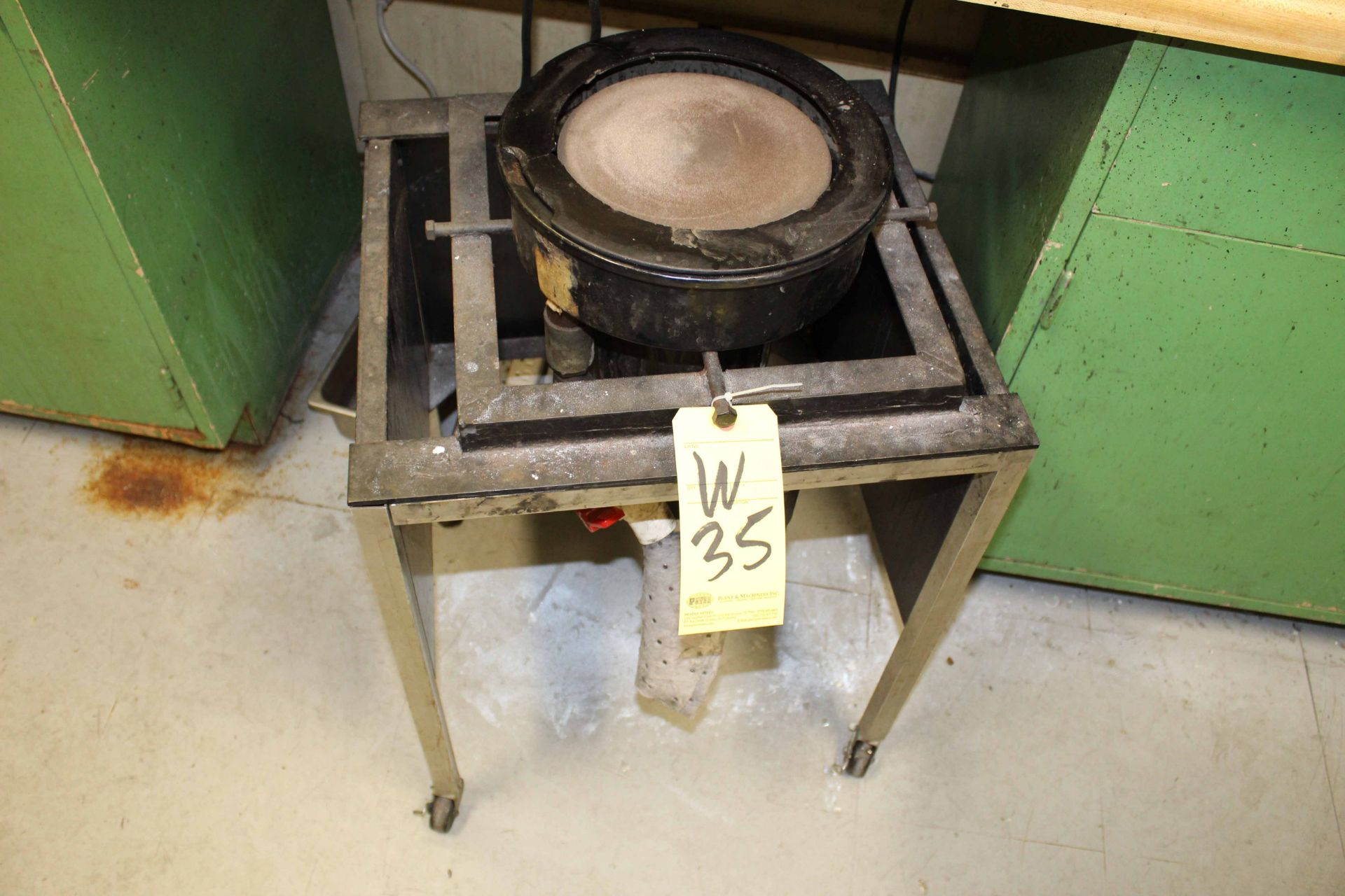 Lot 35 - MOUNTING PRESS, ALLIED HIGH TECH PRODUCTS MDL. TechPress 3, 1,500 watt heating power, up to 4,500