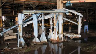 LOT OF WELDING BEAMS, assorted (Location A: 1401 N Decatur Street, Montgomery, AL 36104)