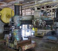 "TRACK TYPE RADIAL ARM DRILL, FOSDICK 6' X 13"" (Location A: 1401 N Decatur Street, Montgomery, AL"