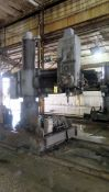 "TRACK TYPE RADIAL ARM DRILL, FOSDICK 6' X 17"" (Location A: 1401 N Decatur Street, Montgomery, AL"