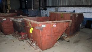LOT OF SELF-DUMPING HOPPERS (6), GALBREATH, assorted sizes (Location F: 2412 Eulaton Road, Anniston,