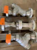 """LOT CONSISTING OF: (APPROX. 3) CHOKE VALVE,INLINE FLOW,2""""-600#,RF,S80,BODY/FLANGE (LOADING CHARGE $"""
