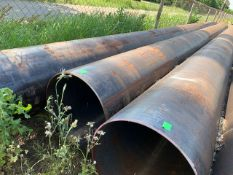 """LOT CONSISTING OF: (APPROX. 2268 INCHES) PIPE,SEAMLESS,24"""",S20/STD,SA-106-B,ASME B36.10 (LOADING"""