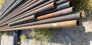 """LOT CONSISTING OF: (APPROX. 9800 INCHES) PIPE,SEAMLESS,4"""",S80/XH,SA-106-B,ASME B36.10 (LOADING"""