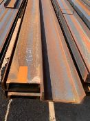 LOT CONSISTING OF: (APPROX. 6720 INCHES) CHANNEL,C8 X 13.75#,SA-36,A6 (LOADING CHARGE $10) (