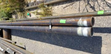 """LOT CONSISTING OF: (APPROX. 960 INCHES) PIPE,SEAMLESS,4"""",S40/STD,SA-106-B,ASME B36.10 (LOADING"""