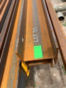 LOT CONSISTING OF: (APPROX. 720 INCHES) BEAM,W8 X 31#,A992,A6 (LOADING CHARGE $10) (LOCATED AT: 1175