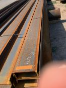 LOT CONSISTING OF: (APPROX. 9120 INCHES) CHANNEL,C10 X 15.3#,SA-36,A6 (LOADING CHARGE $10) (