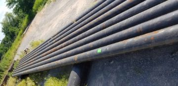 """LOT CONSISTING OF: (APPROX. 3840 INCHES) PIPE,SEAMLESS,6"""",S80/XH,SA-106-B,ASME B36.10 (LOADING"""