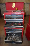 ROLLING TOOL BOX, CRAFTSMAN, 13-drawer, w/tools