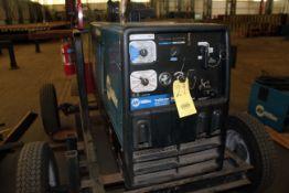WELDER, MILLER MDL. TRAILBLAZER 302 AIR PAK, new 2014, generator, air compressor, battery charger,
