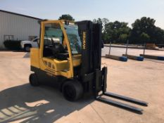 """FORKLIFT, HYSTER 12,000 LB BASE CAP. MDL. S120FT, new 2015, LPG, 171"""" max. lift ht., 83"""" 3-stage"""