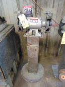 "DOUBLE END PEDESTAL GRINDER, JET, 8"", 1 HP"