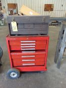 PORTABLE TOOL BOX, w/tools