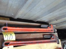 PIPE WRENCH, ARMSTRONG, 36""