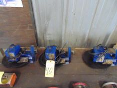 LOT OF OIL SKIMMERS (3), ABANAKI, MIGHTY DISK