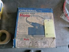 MOTO-FLEX TOOL, DREMEL MDL. 332