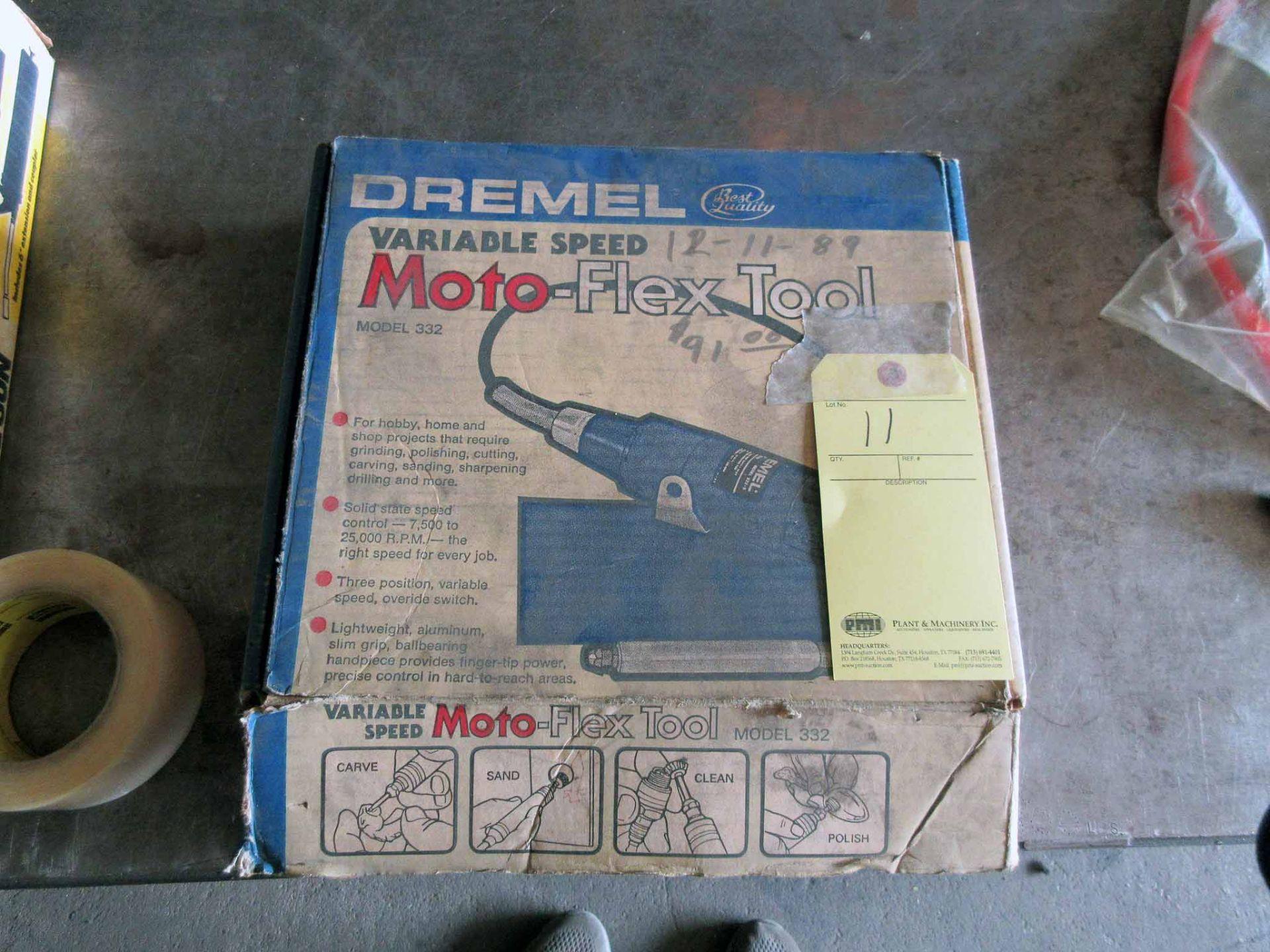 Lot 11 - MOTO-FLEX TOOL, DREMEL MDL. 332