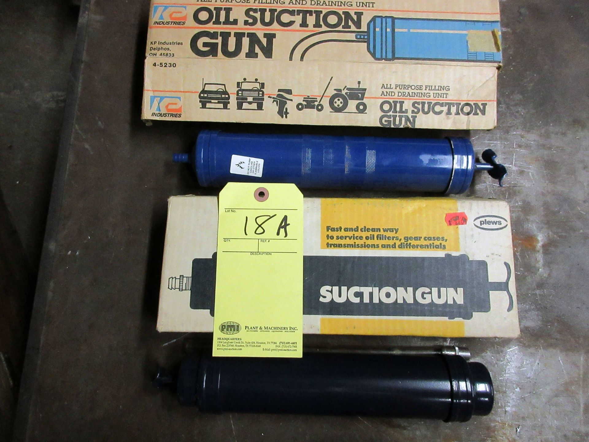 Lot 18A - LOT OF SUCTION GUNS (2)