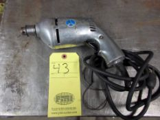"""ELECTRIC DRILL, COMMERCIAL DUTY 1/4"""" MDL. 14080"""